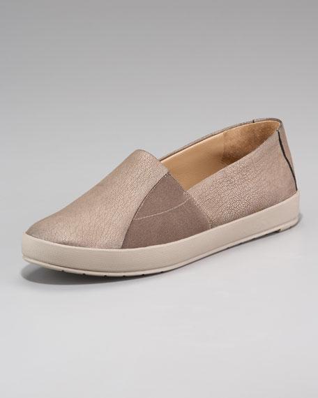Elastic-Inset Loafer
