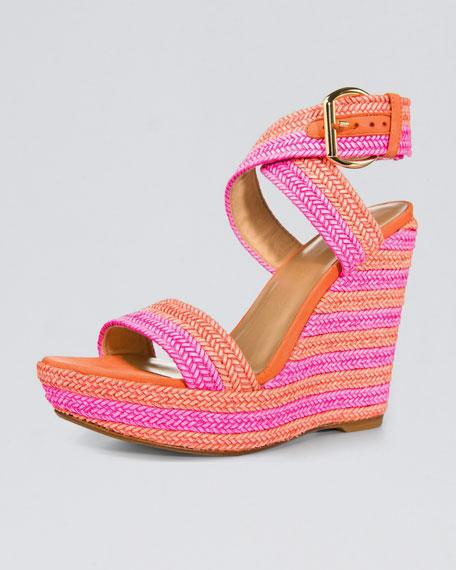 Lanyard Wedge Sandal