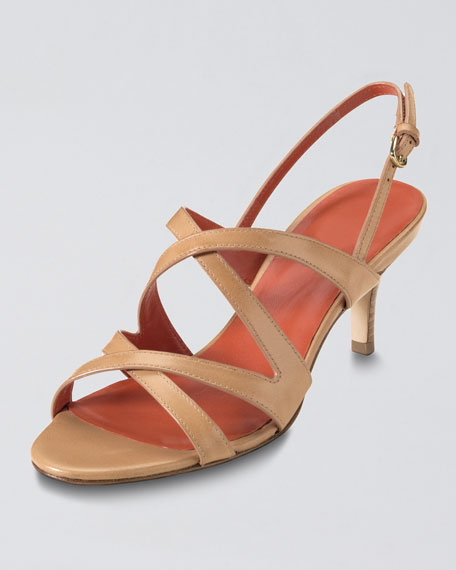 Air Tiona Strappy Sandal, Sequoia Brown