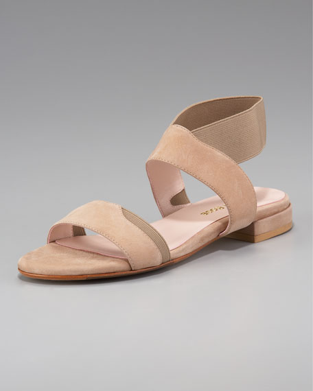 Stretch Flat Sandal