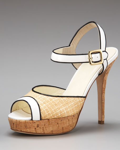 Raffia Sandal