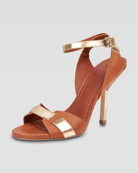 Two-Tone Sandal