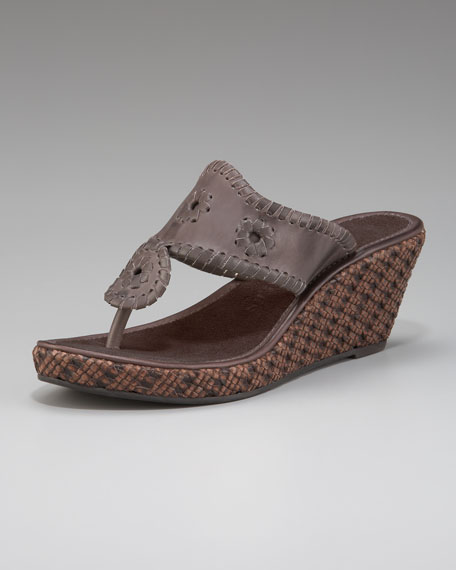 Del Mar Wedge Sandal