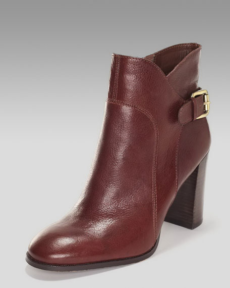 Loni Tumbled Leather Bootie