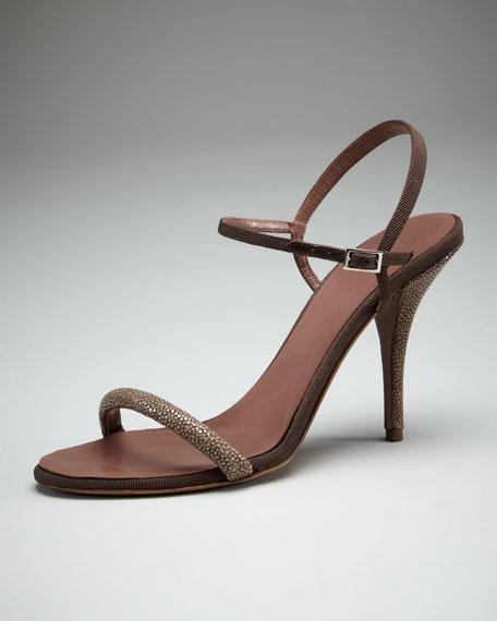 Deon Stingray & Grosgrain Sandal