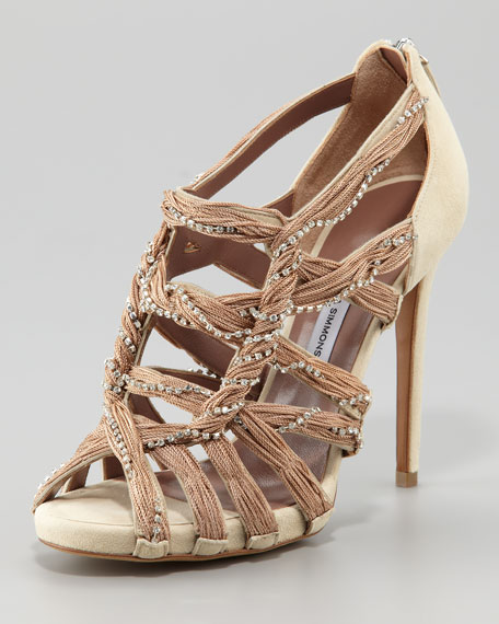 Twisted Crystal Sandal