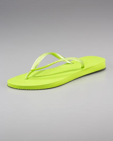 Slim Thong Sandal, Lime