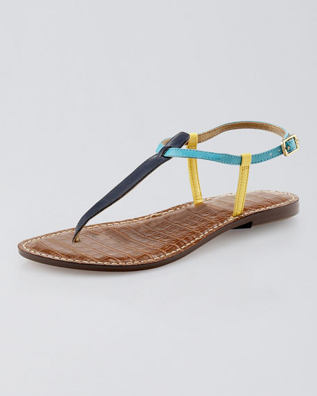Gigi Colorblock Thong Sandal