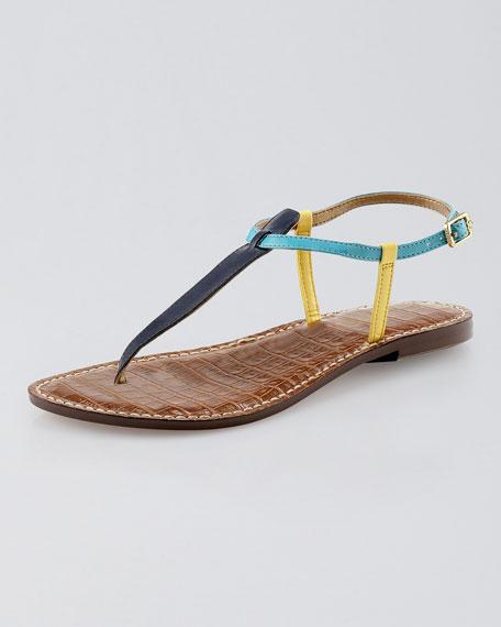 Sam Edelman Gigi Colorblock Thong Sandal