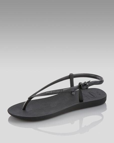 Fit Gladiator Sandal, Black