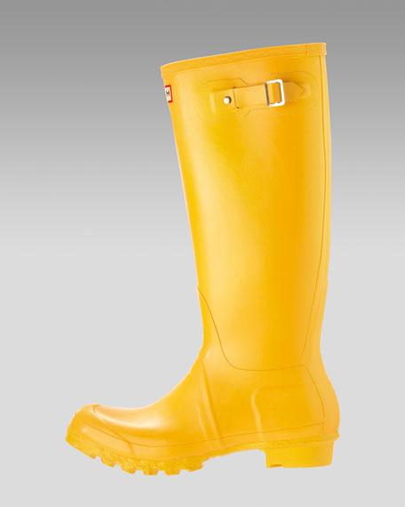 Tall Welly Boot, Yellow