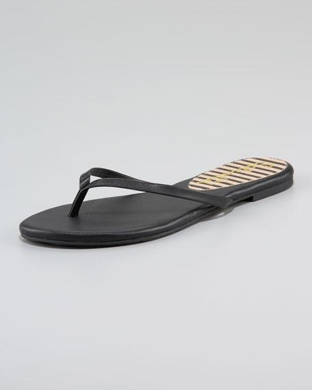 Madrid Leather Thong Sandal