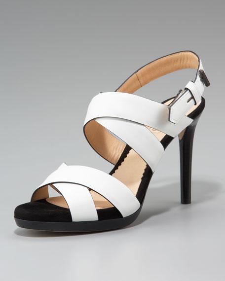 Boxer Sandal, White