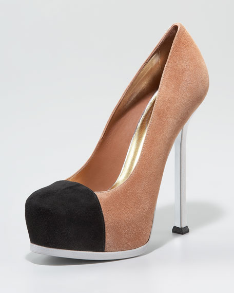 Tribtoo Cap-Toe Pump