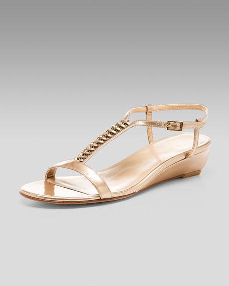 Chain-Strap Sandal