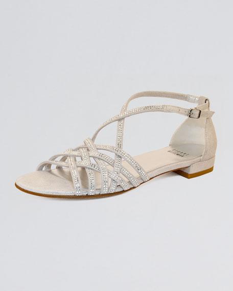 Studded Flat Sandal