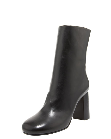 Back-Zip Ankle Boot