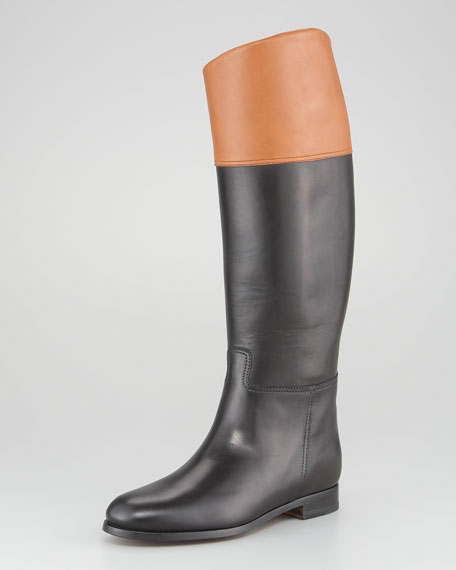 Sabella II Two-Tone Riding Boot