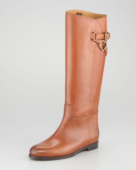 Sachi Buckled Riding Boot