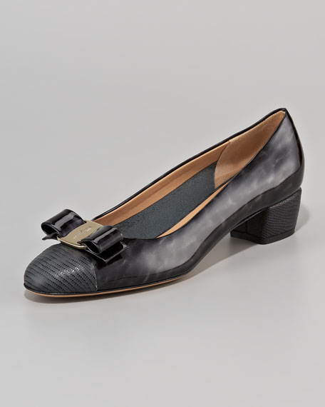 Vara Cap-Toe Pump
