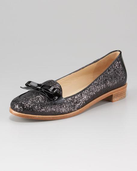 cora glitter loafer