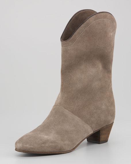 Crosta Suede Mid-Calf Boot