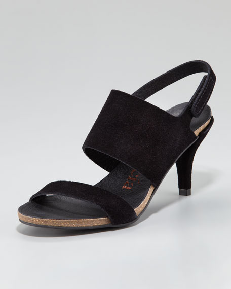 Willy Low-Heel Slingback Sandal