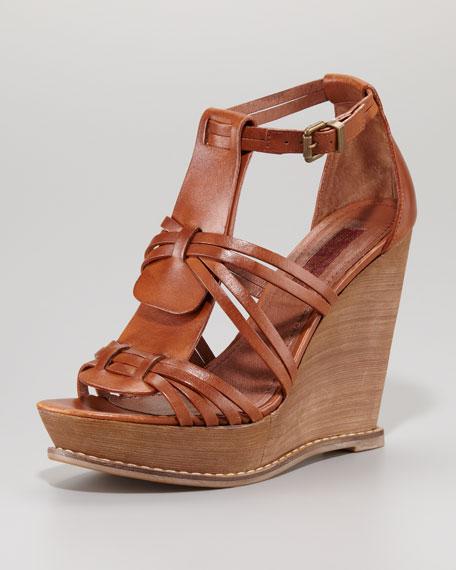 Rhemy Strappy Wedge Sandal