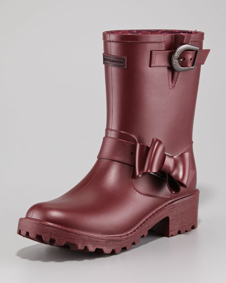 Giselle Bow-Detail Rain Boot