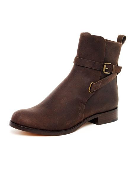 Oiled Vachetta Buckle Boot