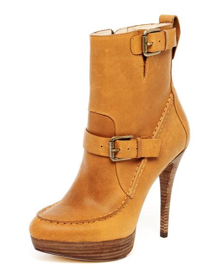 Creston Leather Platform Boot
