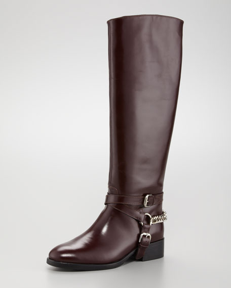 Chain-Halter Riding Boot