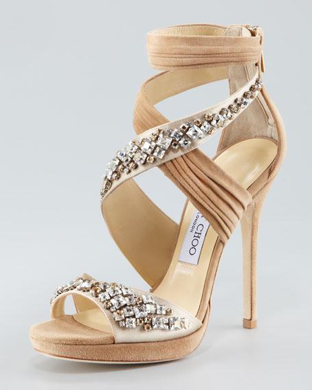 Kani Crisscross Platform Sandal