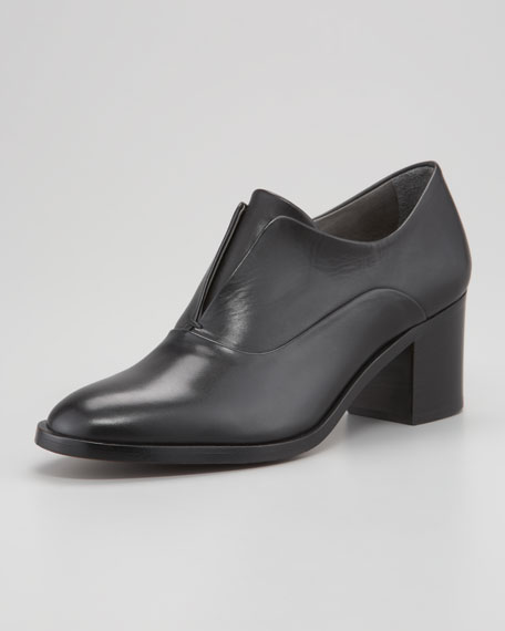 Block Heel Oxford