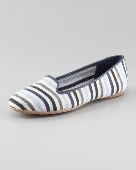 Multicolor Stripe Flat