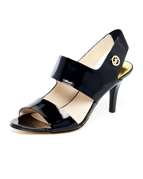 Rochelle Patent Leather Strappy Sandal