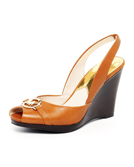 Rochelle Leather Slingback Sandal