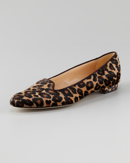 Sharif Leopard-Print Loafer