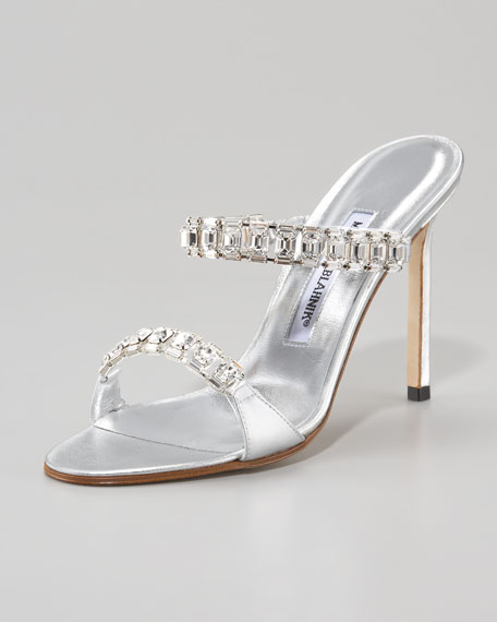 Dallifac Crystal Double-Strap Slide