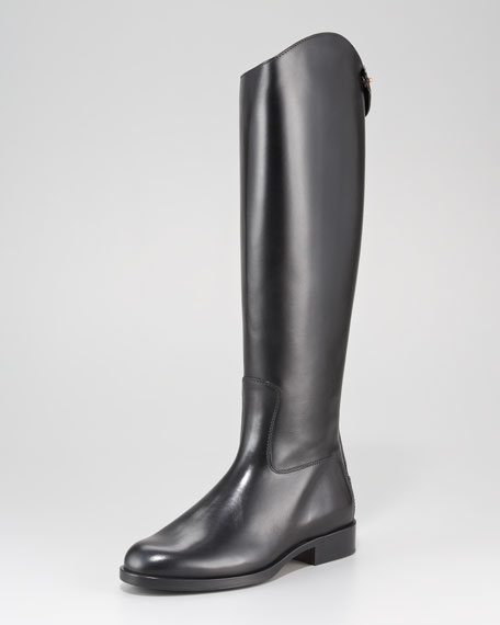 Back-Zip Riding Boot