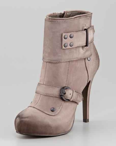 Egoist Military Platform Ankle Boot