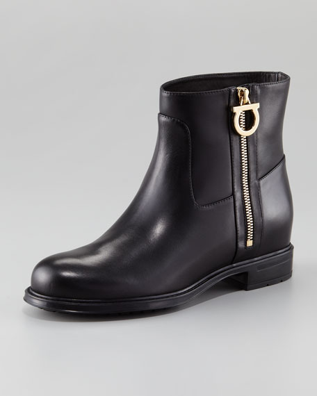 Toni Gancini-Zip Flat Boot