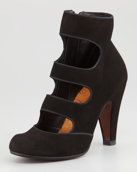 Vestu Suede Strappy Ankle Boot