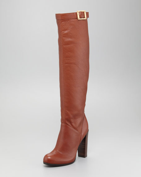 Carmen Buckle Knee Boot