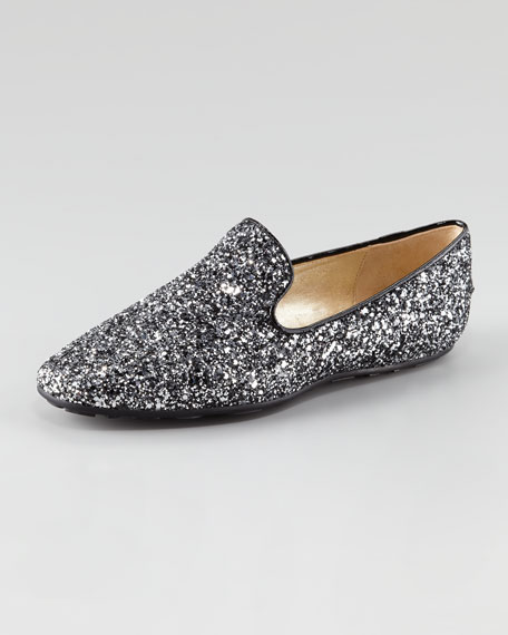 Wheel Glittered Smoking Slipper
