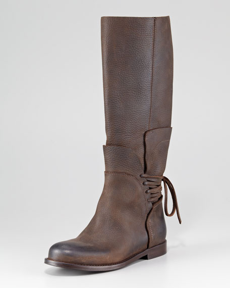 Kelsey Lace-Back Boot