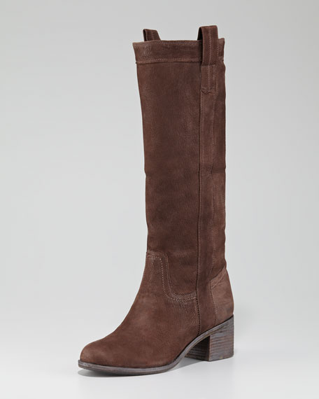 Cuffable Nubuck Boot