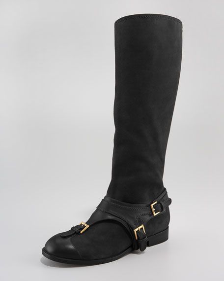 Harness Flat Boot