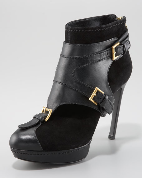 Ankle Boot with Removable Harness
