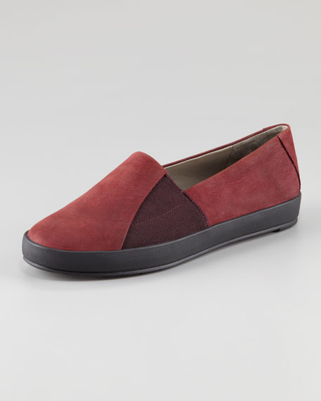 Chase Gored Nubuck Slip-On Loafer